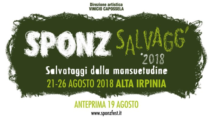 sponz fest 2018 locandina foto