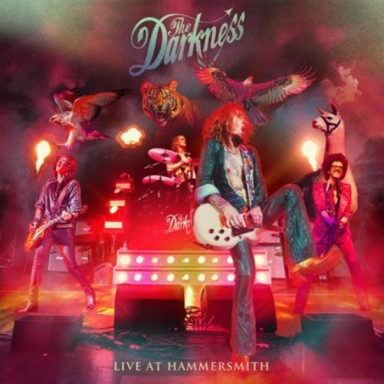 the darkness live at hammersmith apollo londra