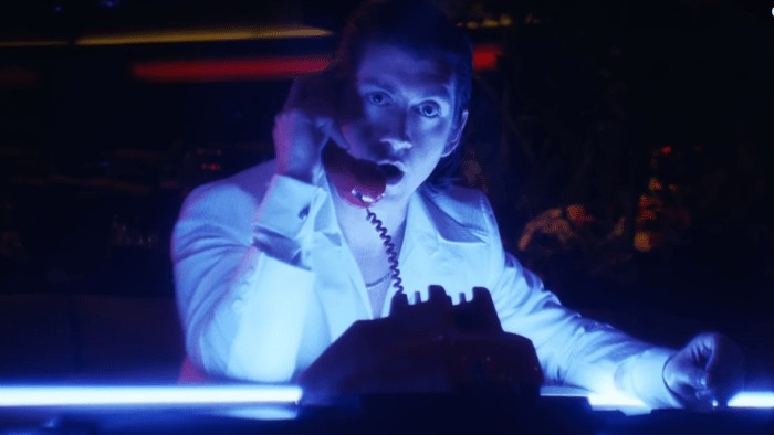 "arctic monkeys ""tranquility base hotel & casino"" video alex turner"