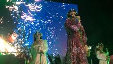 bjork concerto roma 30 luglio 2018 terme di caracalla foto
