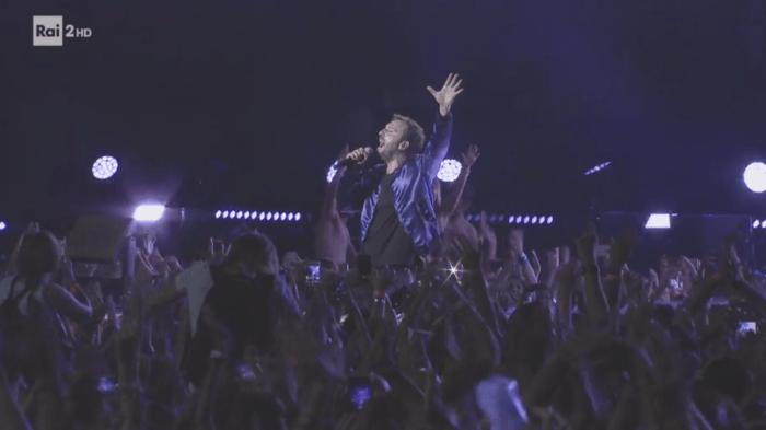 cesare cremonini concerto 20 giugno 2018 Stadio San Siro Milano streaming video integrale Rai2