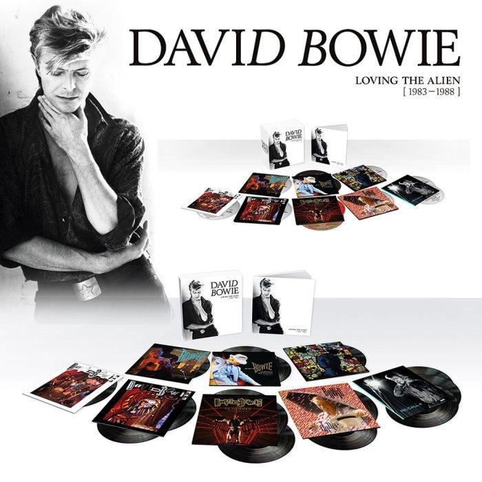 """david bowie """"loving the alien 1983-1988"""""""