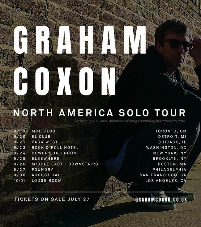 graham coxon tour 2018 date concerti