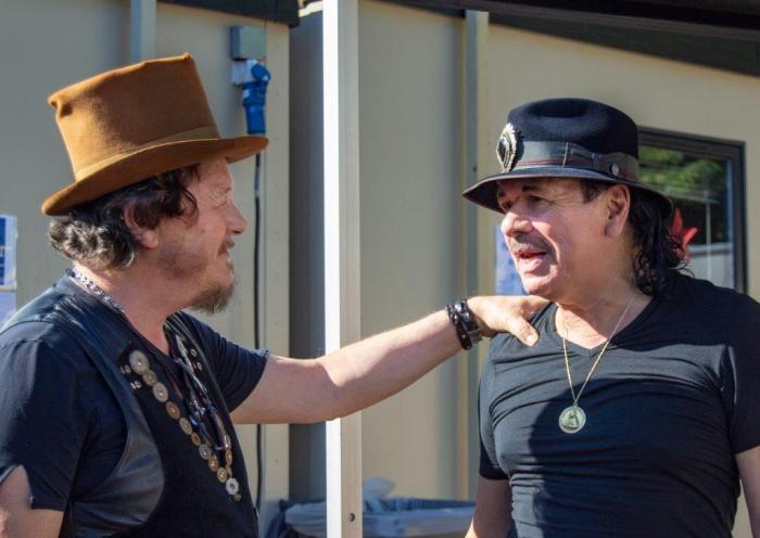 Zucchero e Carlos Santana live @ Hyde Park - Foto di Eleonora Rubini