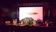 """Bjork in concerto al Just Music Festival, lunedì 30 luglio 2018 alle Terme di Caracalla, Roma, per presentare """"Utopia"""""""