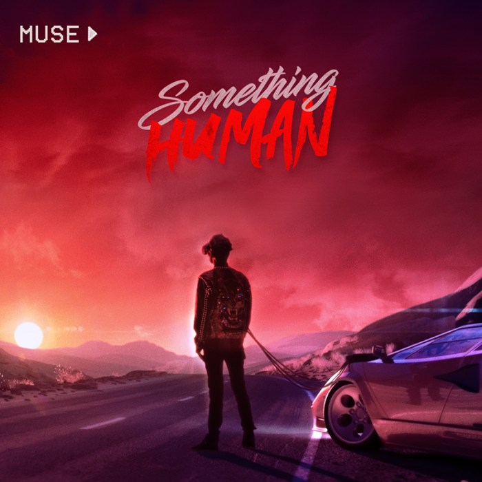 "Muse ""Something Human"" copertina singolo canzone cover"
