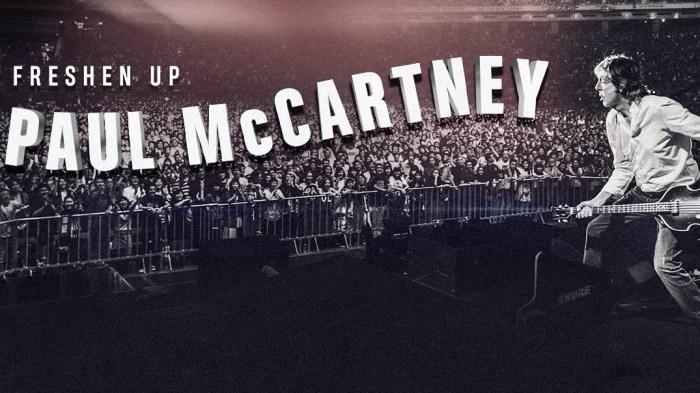"""Paul McCartney """"Freshen Up Tor"""" in partenza dal Canada, a dicembre nel Regno Uinito"""
