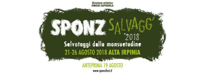 sponz fest 2018 locandina