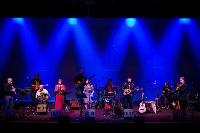 stefano saletti e banda ikona concerto Villa Ada 2 agosto 2018