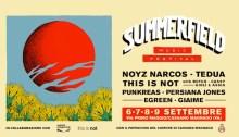 Summerfield Music Festival 2018 con Noyz Narcos, Tedua, This Is Not, Punkreas, Persiana Jones