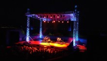 Anna Calvi in concerto all'Anfiteatro del Vittoriale - Foto Facebook