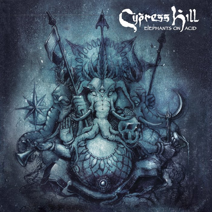 "cypress hill ""elephants on acid"" cover copertina album foto"