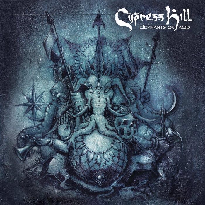 "cypress hill ""elephants on acid"" cover copertina album foto"