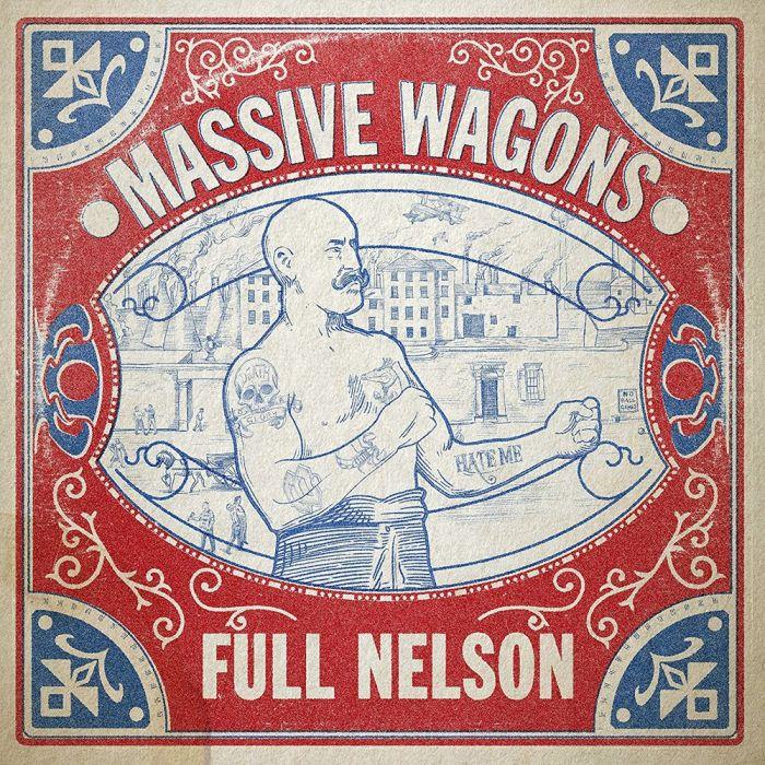 """massive wagons """"full nelson"""" cover copertina album foto"""