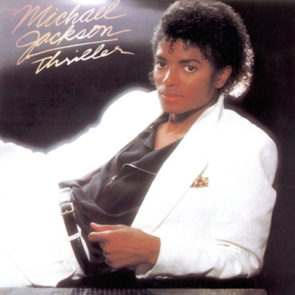 "Michael Jackson ""Thriller"" cover copertina album"