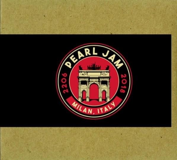 Pearl Jam copertina cover bootleg concerto 22 giugno 2018 I-Days Festival