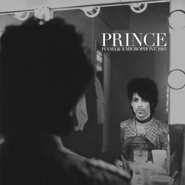 "Prince album cover copertina ""Piano & A Microphone 1983"""
