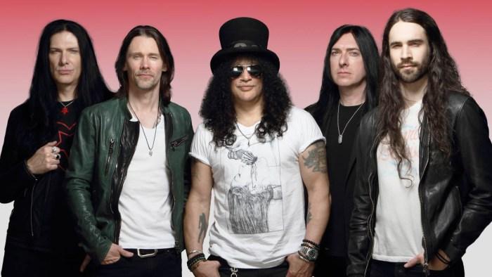 Slash, Myles Kennedy & The Conspirators band