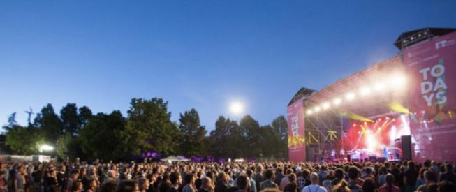 TOdays Festival 2018 palco tutto esaurito