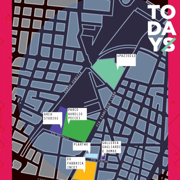 TOdays Festival 2018 mappa orari lineup Torino