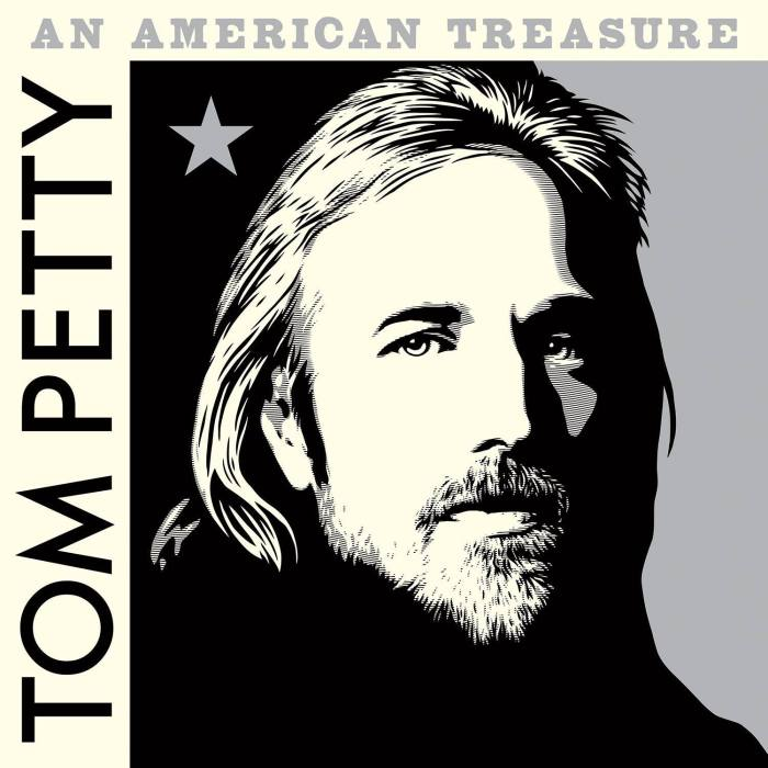 "tom petty and the heartbreakers cover copertina album ""an american treasure"" foto"