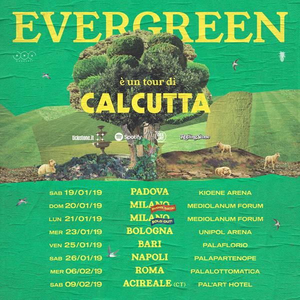 Calcutta raddoppia al Mediolanum Forum: il 21 gennaio 2019 è sold out, l'artista di Latina suonerà nel palazzetto milanese anche il 20 gennaio