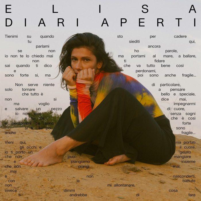 """Elisa, esce il 2 ottobre il nuovo album di inediti """"Diari Aperti"""" anticipato dal singolo """"Se Piovesse Il Tuo nome"""""""