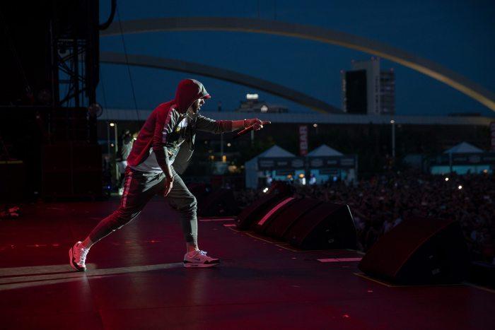 Eminem dal vivo a Milano il 7 luglio 2018 Area Experience