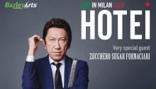 Hote in concerto l'11 ottobre 2018 al Serraglio di Milano special guest Zucchero