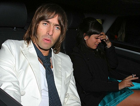 Lily Allen e Liam Gallagher insieme in macchina ai Brit Awards 2007