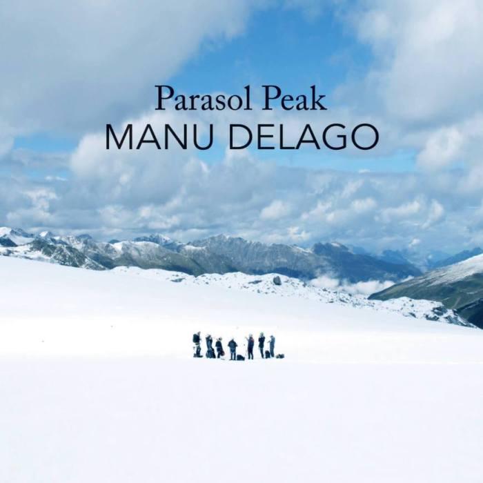 """Manu Delago copertina cover album """"Parasol Peak"""""""