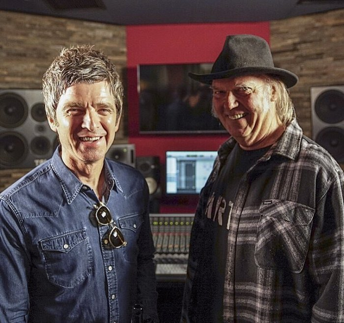 A Noel Gallagher piacerebbe collaborare con Neil Young nel suo prossimo album, entrerà in studio a gennaio 2019