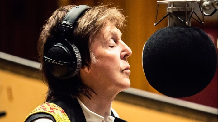 "Paul McCartney ascolta il nuovo album ""Egypt Station"" su Spotify"