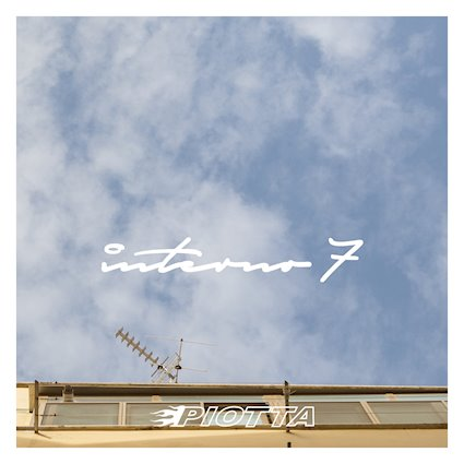 "Piotta cover copertina album ""Interno 7"""