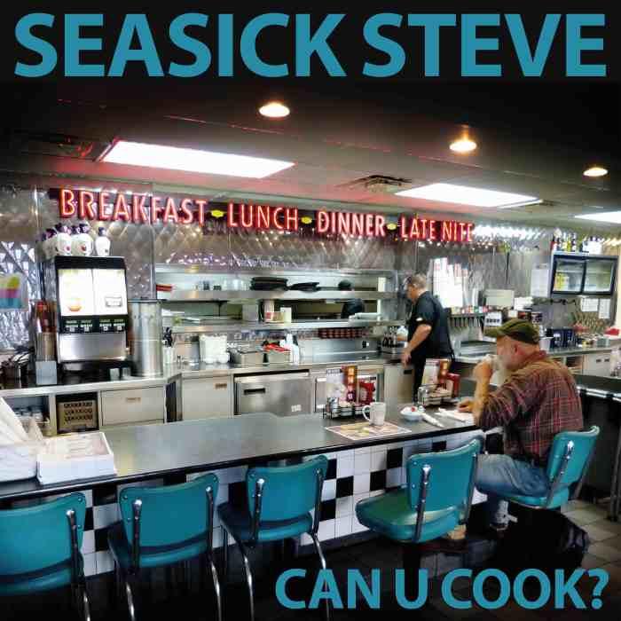 """Seasick Steve cover copertina album """"Can U Cook?"""""""