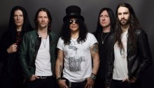 "Slash featuring Myles Kennedy & The Conspirators in concerto venerdì 8 marzo al Fabrique di Milano per presentare il nuovo album ""Mind Your Manners"""