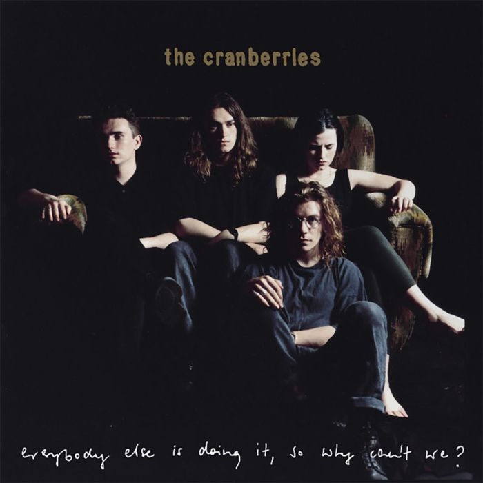 """the cranberries copertina album 25esimo anniversario """"everybody else is doing it, so why cant be?"""""""