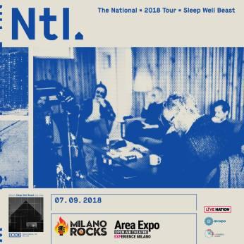 The National concerto venerdì 7 settembre al Milano Rocks