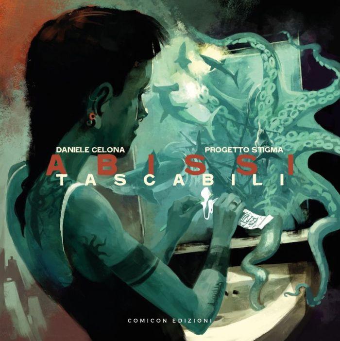 "Copertina album ""Abissi Tascabili"" Daniele Celona"