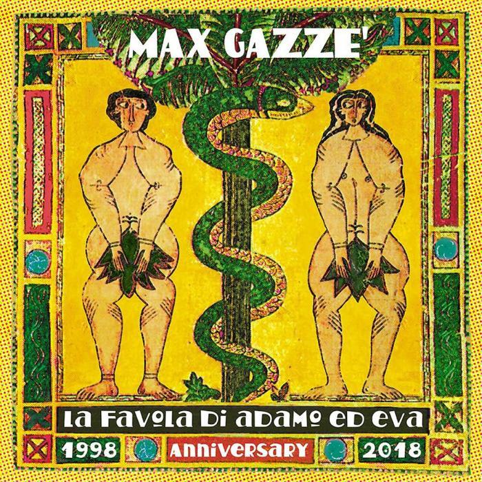 """Max Gazzè ha pubblicato """"La Favola di Adamo ed Eva 1998-2018 Anniversary Edition"""" su CD e doppio LP"""