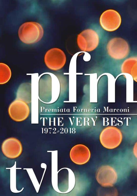 "Cover copertina ""The Very Best"" PFM Premiata Forneria Marconi"