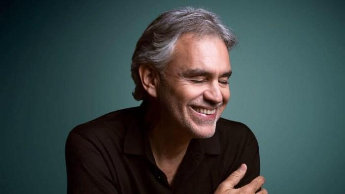 Andrea Bocelli tocca il record di 1 miliardo di streaming con il suo repertorio su tutte le piattaforme di streaming