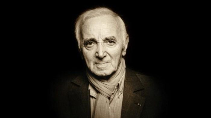 Charles Aznavour è morto a 94 anni