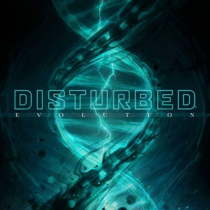 """Cover copertina album """"Evolution"""" Disturbed"""