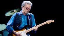 Eric Clapton torna dal vivo il 13, 15 e 16 maggio 2019 alla Royal Albert Hall di Londra