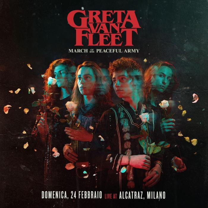 Greta Van Fleet in concerto domenica 24 febbraio 2019 all'Alcatraz di Milano