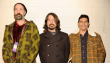 Al Cal Jam 2018 si sono riuniti i Nirvana Dave Grohl, Pat Smear e Krist Novoselic