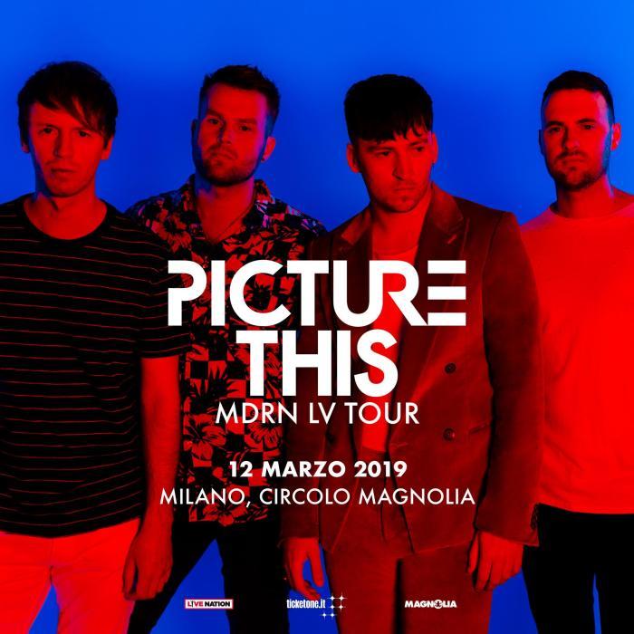La band irlandese Picture This arriva in concerto il 12 marzo al Magnolia di Milano pr presentare l'album di debutto omonimo
