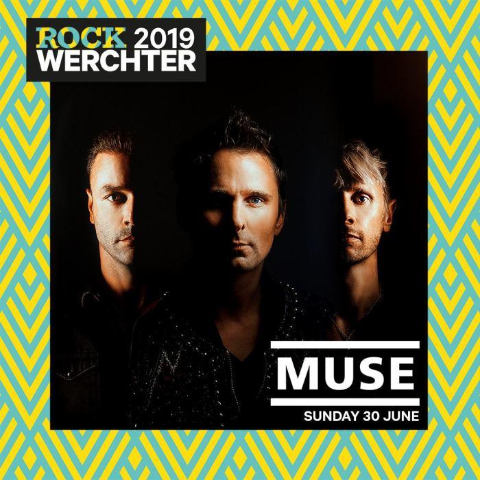 I Muse chiuderanno l'edizione 2019 del Rock Werchter domenica 30 giugno