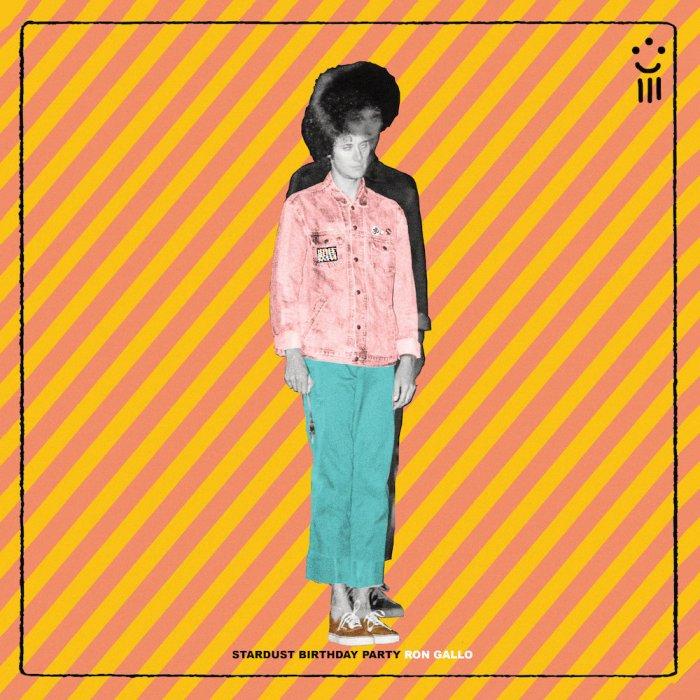 """""""Stardust Birthday Party"""" cover copertina album Ron Gallo"""